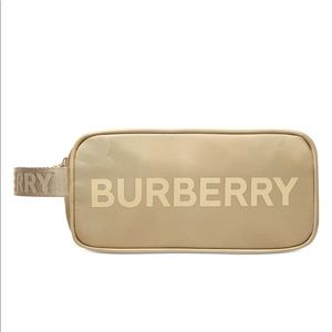 NWT BURBERRY COSMETIC BAG